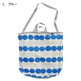 【BELLE MAISON】ベルメゾン ランドリートートバッグ 「ブルー」(L) ◆L◆ ◇ 洗濯ネット ランドリー◇