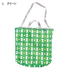 【BELLE MAISON】ベルメゾン ランドリートートバッグ 「グリーン」(L) ◆L◆ ◇ 洗濯ネット ランドリー◇