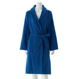 ベルメゾン バスローブ バスドレス 綿100%のウィングバスローブ ブルー M L ◆M L◆ ◇ バス 風呂 お風呂 バスルーム バスローブ バスドレス バスタオル ◇