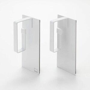 ベルメゾン マグネット洗濯ネットハンガー 2個セット 「ホワイト」 ◇ タワー/tower 洗濯ネット ランドリー ◇