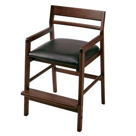 ベルメゾン 座面可動式ダイニングチェア 「 ダークブラウン 」 ◇ 家具 収納 椅子 チェア いす ダイニング 人 掛け 天然木 木製 シンプル おしゃれ BELLE MAISON DAYS ◇