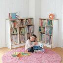 ベルメゾン 1cmピッチ絵本本棚 「ナチュラル」◆F/118×115(幅×高さ(cm))◆◇ 子供 子供用 家具 収納 キッズ収納 お…