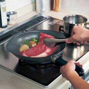 ベルメゾン 軽くてお手入れしやすいダブルファイバー窒化鉄フライパン ◆ 22cm ◆ ◇ 柳宗理 調理 料理 器具 ツール 道具 フライパン パン ◇