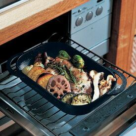 ベルメゾン グリルでもIHでも使える南部鉄器のベイクパン◇ 料理 器具 ツール 道具 電子 レンジ オーブン 耐熱◇
