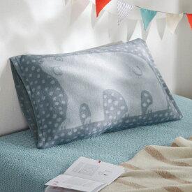 ベルメゾン 北欧調デザインの消臭のびのび枕カバー 「しろくま」◆M〜L(サイズ)◆ ◇ 寝具 布団 ベッド カバー 枕 カバー ピロー ピローケース bed ファブリック 北欧 ◇