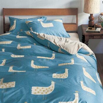 ベルメゾンダニを通しにくい布団カバーセット(3点)「しろくま柄」◆洋式シングル◆◇寝具布団ベッドカバーセット掛け敷き掛け布団3点bedファブリック◇
