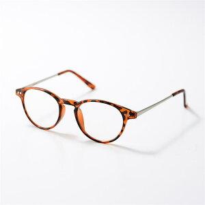 ベルメゾン ブルーライトカット加工クリアグラス・リーディンググラス 「 ブラウンマーブル 」 ◆ 度なし +1.0 +1.5 +2.0 +2.5 ◆ ◇ 老眼 眼鏡 鏡 女性 レディース リーディング 拡大