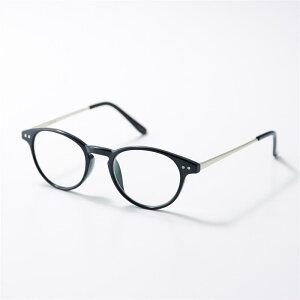 ベルメゾン ブルーライトカット加工クリアグラス・リーディンググラス 「 ブラック 」 ◆ 度なし +1.0 +1.5 +2.0 +2.5 ◆ ◇ 老眼 眼鏡 鏡 女性 レディース リーディング 拡大 おしゃれ