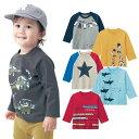 【ベルメゾン】 子供服 プリント 長袖 Tシャツ ◆ 80 90 100 ◆◇ ベビー 服 ベビー トップス ベビー服 子供服 子供 …