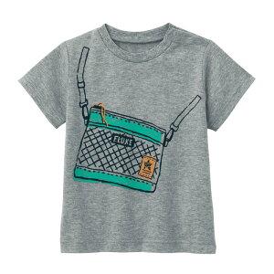 【ベルメゾン】 ゆるいタッチが可愛い プリント 半袖 Tシャツ 「杢グレー」 ◆ 80 90 100 ◆◇ ベビー服 ベビー 服 新生児 男の子 女の子 ベビー用品 新生児服 出産祝い ギフト プレゼント トッ
