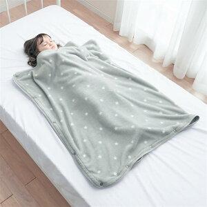 【ベルメゾン】 スナップボタンで筒状に!寝ている間にこっそり包む あったか 子供 毛布 ◆ M ◆ ◇ ベルメゾン 寝具 布団 ベッド ふとん 毛布 ブランケット あったか ◇