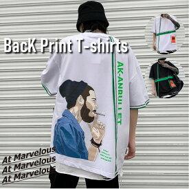 ストリート系 Tシャツ メンズ 立体ポケット ビッグT