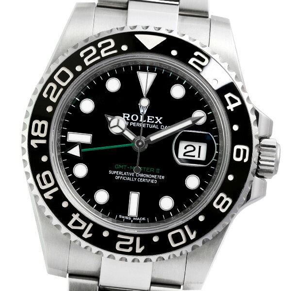 ROLEX ロレックス GMTマスターII 116710LN ランダム品番【中古】【メンズ】【自動巻】【腕時計】