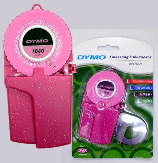 DYMO /DYMO label tape writer M1880GPK glitter pink (face one)
