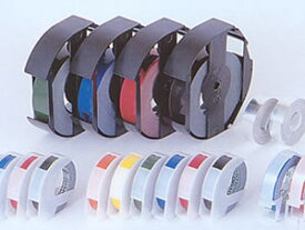 ◎ダイモ/DYMO グロッシーテープ(つやあり)9mm×3m DM0903 ダイモテープ