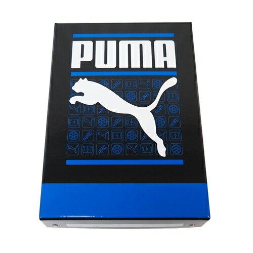 プーマ  お道具箱(紙箱) ブラック/ブルー PM122A(B5サイズ対応) クツワ /プーマ/文具/文房具/新入学/