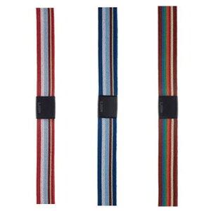 ライオン ゴムdeパッチ GP-151 マルチ バンド幅15mm×長さ60cm A4縦対応 留め具2個入り(レッド(R)、ブルー(B)、ミックス(MX))ゴムデパッチ ゴムバンド