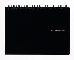 マルマン Mnemosyne/ニーモシネ ノートA5 横型 特殊5mm方眼罫 【N182A】70枚 本体サイズ:幅210×高さ160×奥行10mm 切り取りミシン目付 リングノート/ツインワイヤ