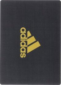 ◎アディダス<adidas> 下敷き(B5サイズ) DUS-200 AI04 黒金(ブラック/ゴールド) 三菱鉛筆/文具/文房具/新入学