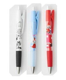 ムーミン オプトボールペン Opt.ボールペン 全3種類(ホワイト・ブルー・レッド)インク黒 0.7mm ノック式 可動式リフトグリップ付 サンスター文具/パイロット/PILOT MOOMIN