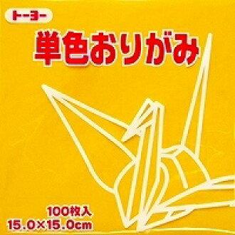 도요 단색 종이접기 「야마부 나무」064107 15 x15cm 100장