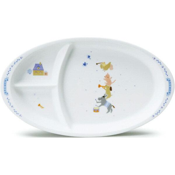 NARUMI ナルミの子ども食器 ブレーメン キッズプレート28cm