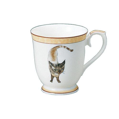 NARUMI ナルミボーンチャイナ いわさきちひろ マグカップ 蒼い目の黒猫