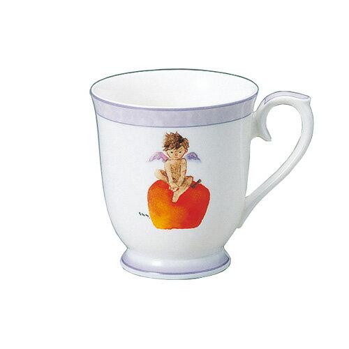 NARUMI ナルミボーンチャイナ いわさきちひろ マグカップ りんごと天使