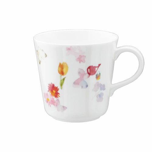 NARUMI ナルミボーンチャイナ いわさきちひろ マグカップ(春の庭)