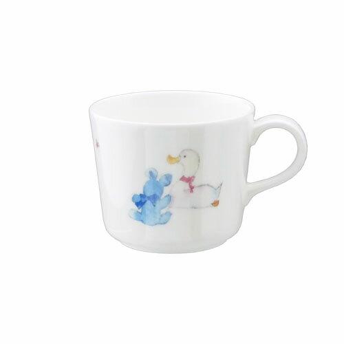 NARUMI ナルミボーンチャイナ いわさきちひろ ミニマグカップ(アヒルとクマ)