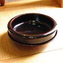 伊賀焼 土楽窯 アメ釉グラタン皿5寸
