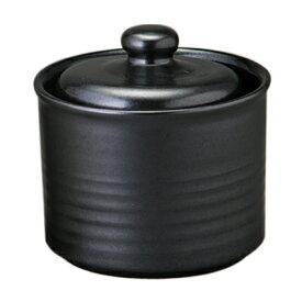 信楽焼 魔法の容器 一夜漬け鉢(黒)