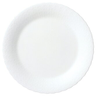 Narumi bone china sill key white 27cm dinner plate