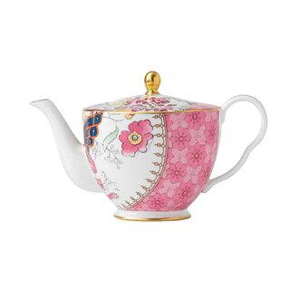 韦奇伍德蝴蝶扫帚茶壶