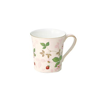 Wedgwood wild strawberry pastel mug (Pink)