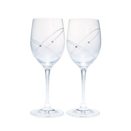 ウェッジウッド クリスタル プロミシス 『ウィズ ディス リング』 ワイングラス ペアギフトセット