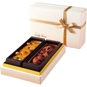 Lady Bear グルテンフリーパウンド アガベショコラ&オレンジ紅茶(メーカー直送)