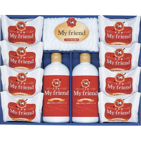 (香典返し 洗剤) 牛乳石鹸 マイフレンド(BMF25)/ ギフト 引き出物 出産お祝い 出産祝い 結婚お祝い 結婚祝い 内祝い お返し ご挨拶 引っ越し 香典返し 熨斗 表書き お礼