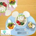 【出産祝い ベビー食器】ミッキー・ミニー アイコンランチプレート ベビー・キッズ食器  男の子 女の子 ディズニー