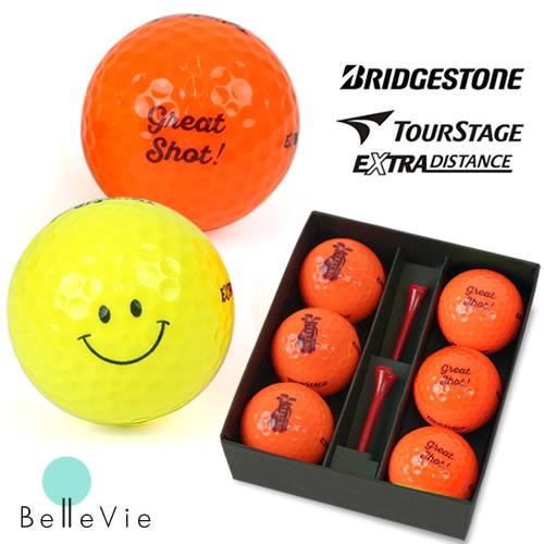 名入れカラーゴルフボール TourStage(6個) & Teeギフトセット [ 誕生日プレゼント 男性 イラスト お名前印刷 プレゼント お名前入りゴルフ 誕生日 ]10P03Dec16