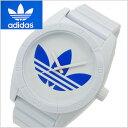 adidas originals アディダス オリジナルス 腕時計 Santiago (サンティアゴ) ホワイト×ブルートレフォイル/メンズ ADH2704
