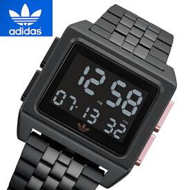 アディダス adidas 腕時計 デジタル ユニセックス/メンズ・レディース Archive_M1 ブラックIP Z01-3077