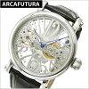 ARCA FUTURA watch machine type men, cowhide belt (black) Al caph Tula 294SKBK