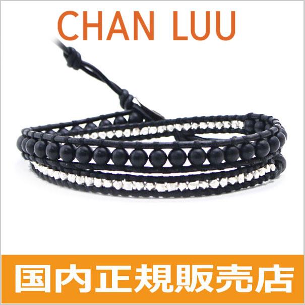 チャンルー CHAN LUU ストーンビーズミックス 2連ラップブレスレット メンズ & レディース/ユニセックス チャンルー CHANLUU ONYX/オニキス BS-5253CLJ(SP)BLACK ブラック