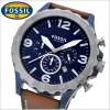 Fossil FOSSIL watch men's Nate NATE chronograph fossil FOSSIL JR1504