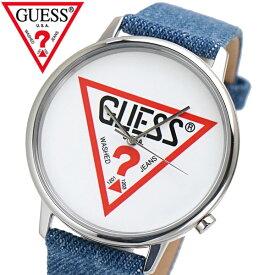 GUESS ゲス 腕時計 オリジナルズ ブルーデニム V1001M1