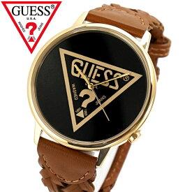 GUESS ゲス 腕時計 オリジナルズ ブラウンレザー メッシュ V1001M3