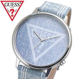 GUESS ゲス 腕時計 オリジナルズ ブルーデニム V1012M1