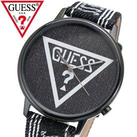 GUESS ゲス 腕時計 オリジナルズ ブラックデニム V1012M2