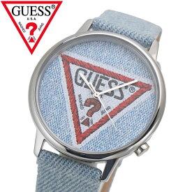GUESS ゲス 腕時計 オリジナルズ ブルーデニム V1014M1